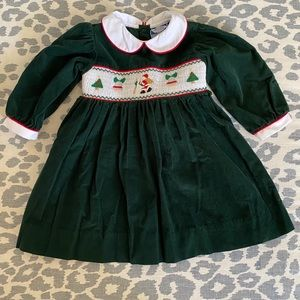 Carriage Boutiques Santa Smocked Dress